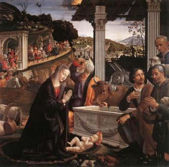 Доменико Гирландайо. Поклонение пастухов.