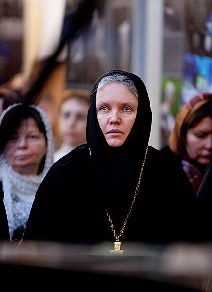Настоятельница Богородице-Смоленского Новодевичьего монастыря игумения Маргарита (Феоктистова)