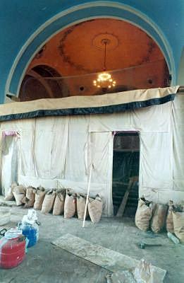 Реконструкция верхнего храма