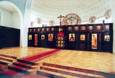 1999 год. Новый иконостас храма