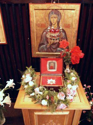 29 декабря 1995 года - две частицы мощей от десницы св. Татианы из Свято-Успенского Псково-Печерского монастыря были привезены в Университетскую домовую церковь: одна частица была вставлена в икону, а другая положена в ковчежец