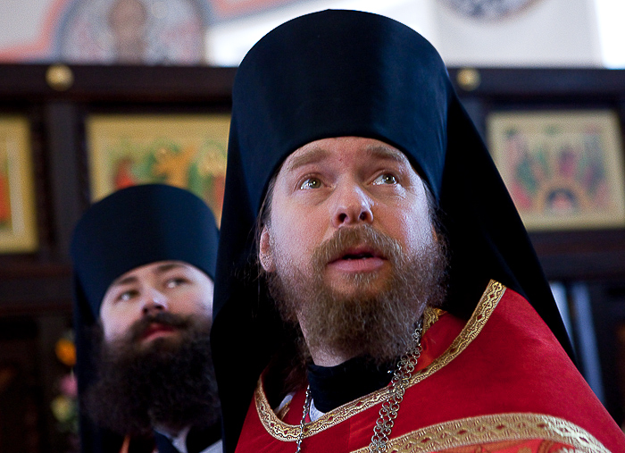 Архимандрит Тихон (Шевкунов), наместник Сретенского монастыря