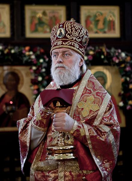 Архиепископ Верейский Евгений, ректор Московской духовной академии и семинарии