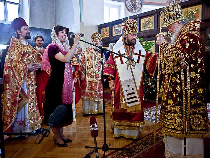 Студенты МГУ попросили Патриарха и ректора построить храм на основной территории Университета