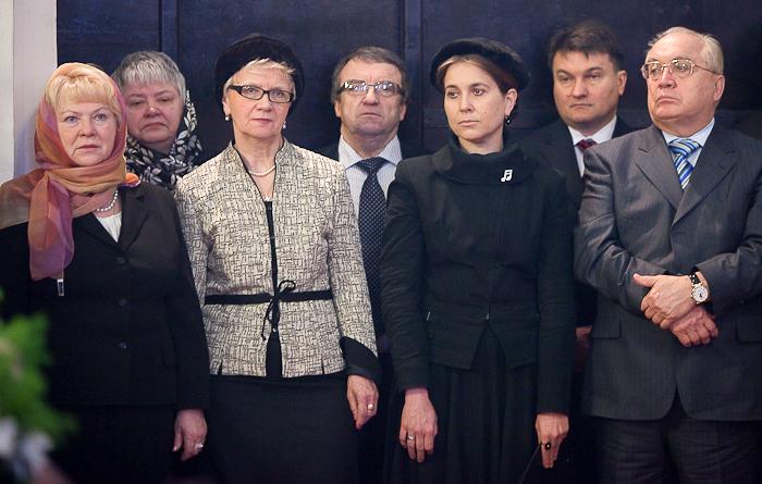 Руководство Московского университета на праздничной Литургии в день памяти св. мц. Татианы
