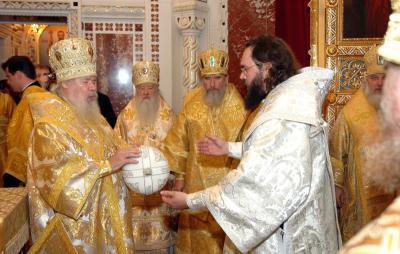 Епископ Феофилакт и Патриарх Алексий II