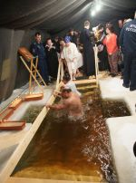 Крещенские купания в Якутии