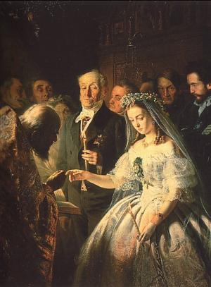 сон выйти замуж за знакомого мужчину