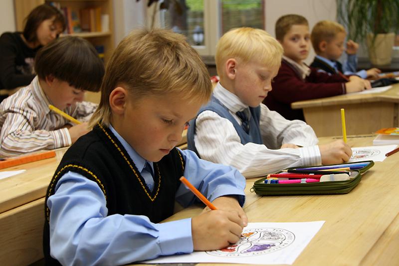В гимназии святителя Василия Великого