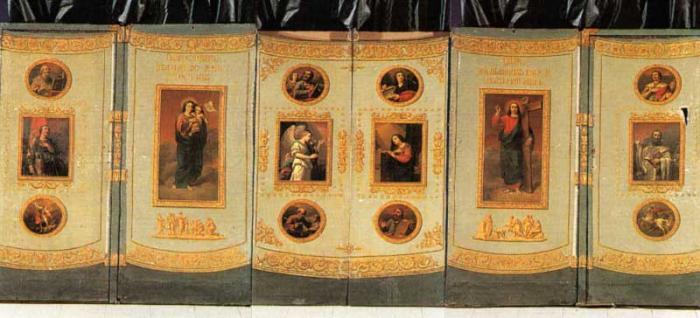 походный иконостас 1812 года
