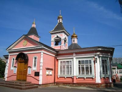 Храм Преображения в Богородском