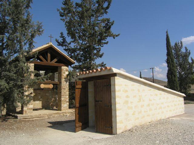 Храм оптинских старцев в монастыре Мавровуни