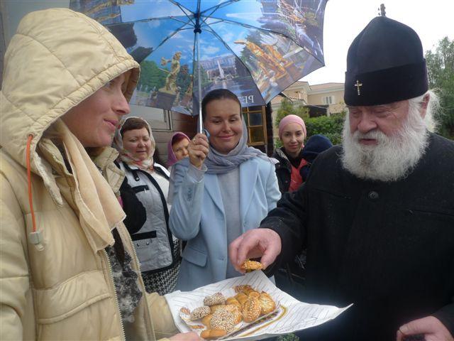 Митрополит Черкасский Софроний в гостях у русского прихода