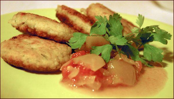 Блюда с рыбным фаршемы