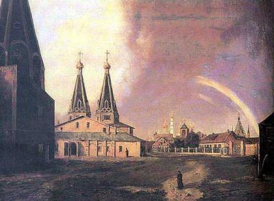 Алексеевский монастырь (с картины)