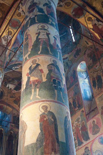 Росписи успенский собор московский кремль