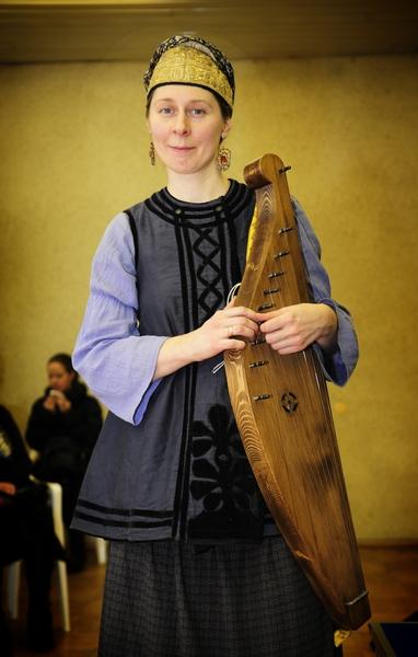 Исполнительница духовных стихов Полина Терентьева