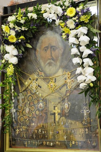 Чудотворная икона святителя Николая Чудотворца