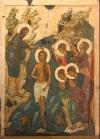 Икона Богоявления: как изобразить голос, реку и убегающее море
