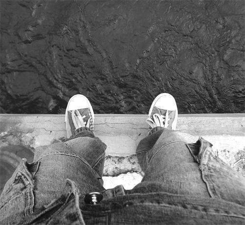 Черно белое фото сова 3