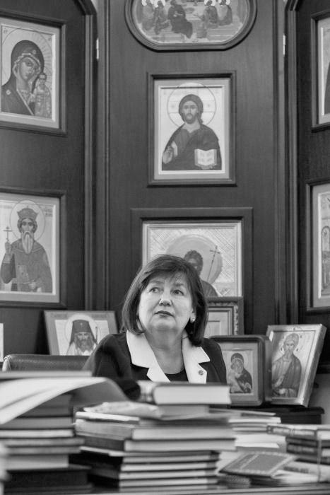 Наталья Якунина. Председатель попечительского совета Всероссийской программы СВЯТОСТЬ МАТЕРИНСТВА.