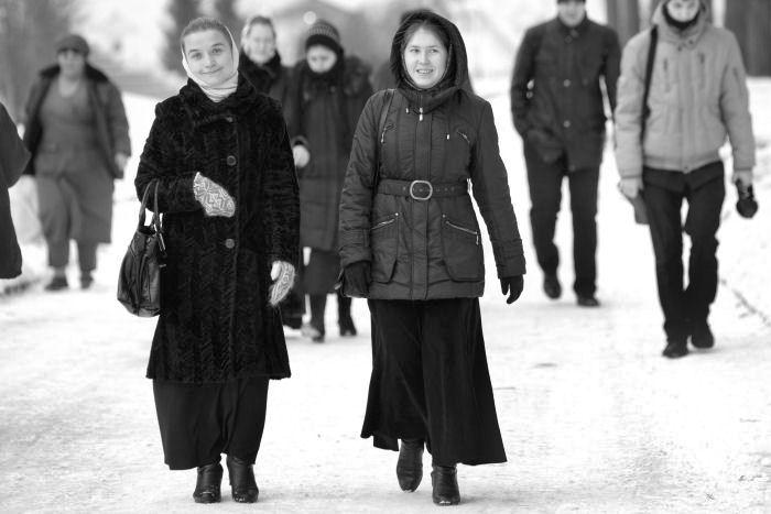 Будущие регенты. Московская духовная академия.
