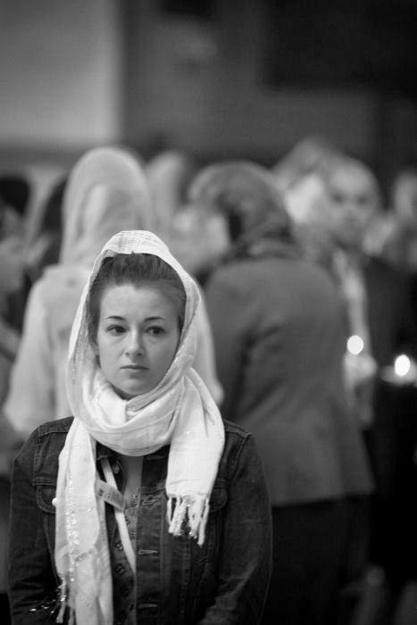 Храм Вознесения Господня в Сторожах у Никитских ворот. Панихида по Марине Цветаевой.