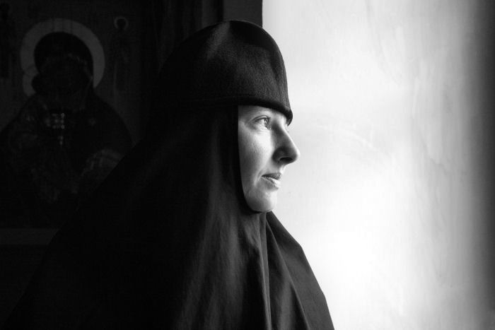 Монахиня.