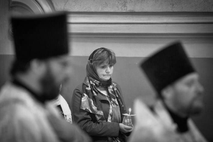 Την ορθόδοξη γυναίκα (ρωσία