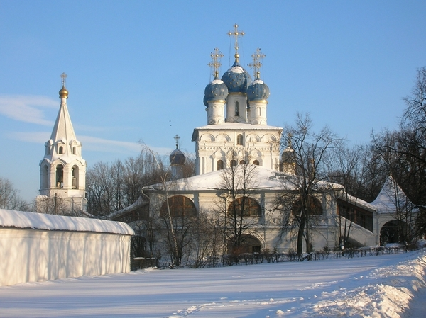 Казанский храм в Коломенском