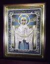 Выставка вышитых икон в Храме Христа Спасителя - Променад - Татьянин День.