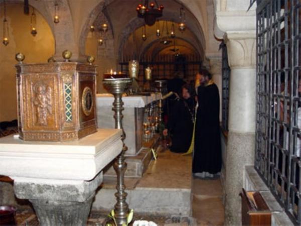 У мощей святителя Николая в г. Бари