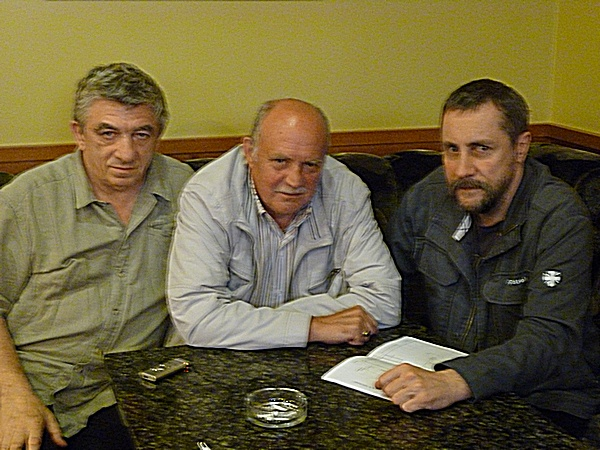 Андрей Мановцев, Юрий Григорьев, Кирилл Протопопов. Июнь 2012 года
