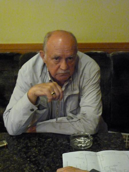 Юрий Григорьев. Июнь 2012 года, Санкт-Петербург