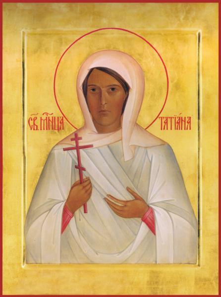 Мученица Татьяна (Гримблит), икона