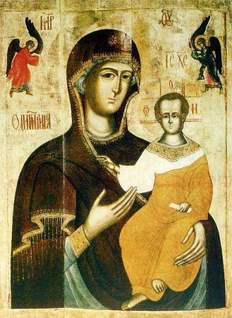 икона в новодевичьем монастыре: