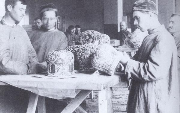 Эпизод изъятия церковных ценностей, весна 1922 года