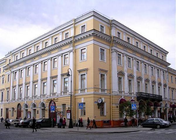 Здание петербургской Филармонии