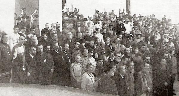 Оглашение приговора на петроградском процессе. 5 июля 1922 года, 1 час дня