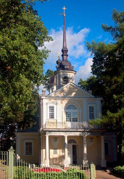 Церковь Знамения Божией Матери в Царском Селе