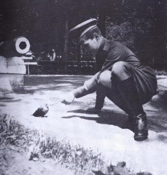 Последнее фото Цесаревича в Царском Селе