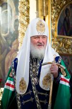 Новый список Владимирской иконы Патриарх освятил в храме при Третьяковской галерее (ФОТО)