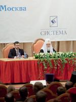 Патриарх Кирилл на фестивале Вера и Слово (ФОТО)