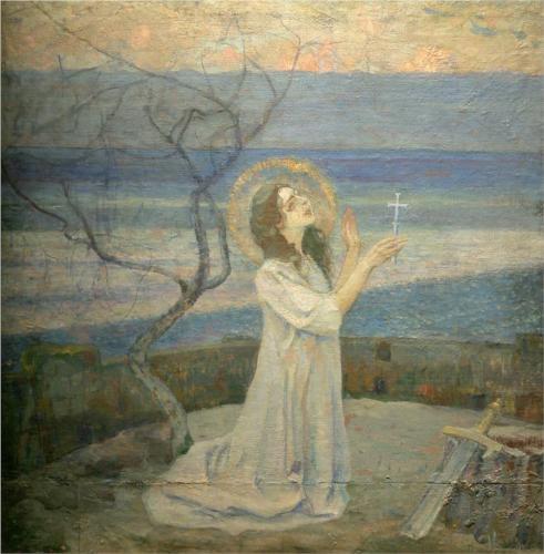 М. Нестеров. Святая Варвара