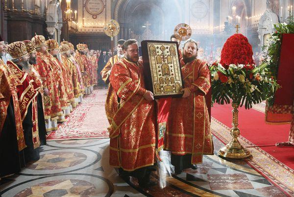 Пасхальная великая вечерня. Фото www.patriarchia.ru