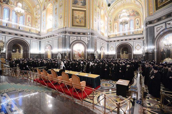 Епархиальное собрание московского духовенства. 28 декабря 2012 года. Фото www.patriarchia.ru