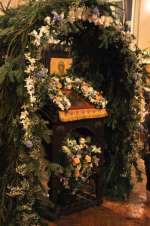 Праздничная служба Рождества Христова в храме св. мц. Татианы (ФОТО)