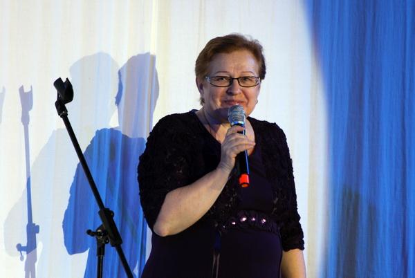 Татьяна Сергеевна Корабельникова на сцене Зала Церковных соборов