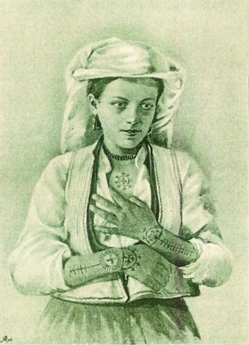 женские татуировки балкан