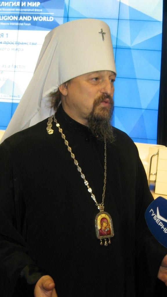 Владыка Иоанн. Фото автора